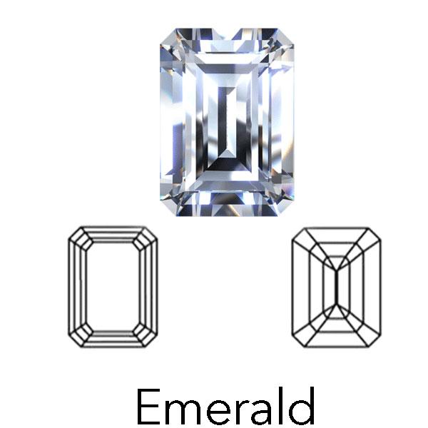smaragdschnitt von LONITÉ diamant bestattung