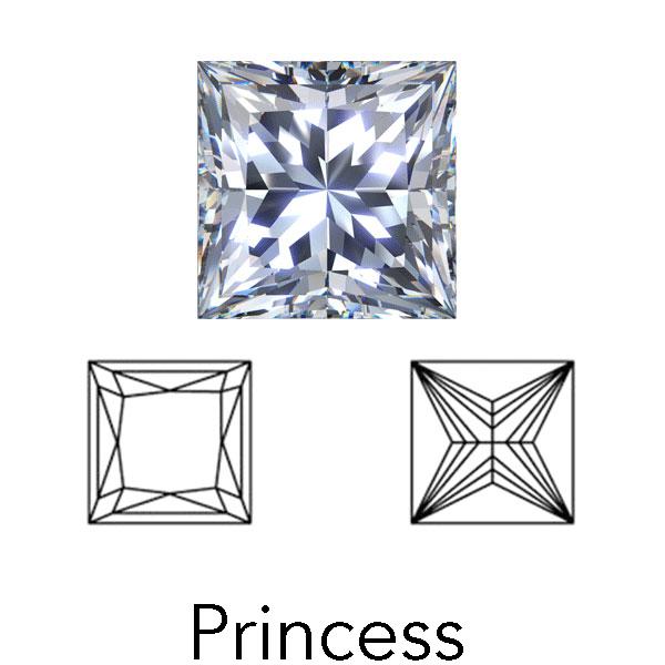 prinzessschnitt von LONITÉ diamant bestattung