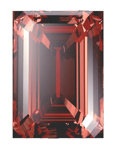 Haare oder einäschungs-asche werden in einen roten LONITÉ-gedenkdiamanten verwandelt